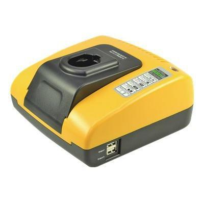 2-power oplader: DeWalt NiCd & NiMH Battery Charger, 110-240 V, 18, 3 A, 185 x 160 x 80 mm, 866 g