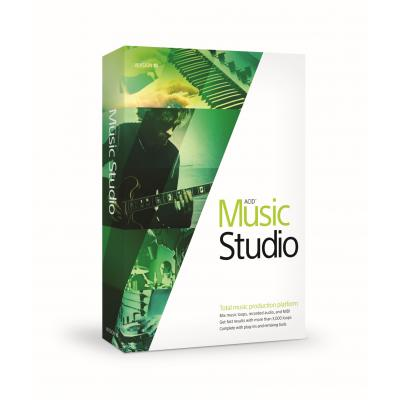 Magix audio software: Sony Acid Music Studio 10  PC