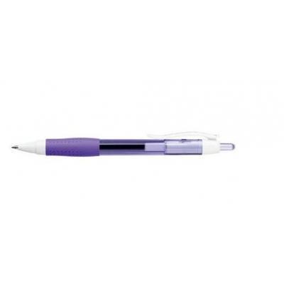 Papermate gelpen: Purple. 0.7mm, M - Paars, Wit