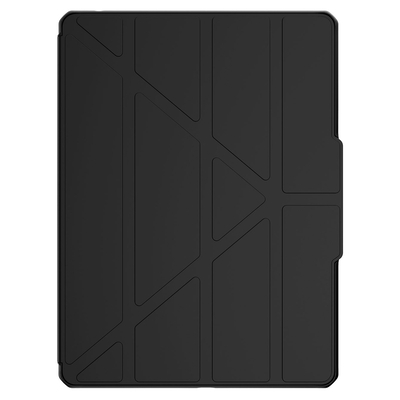 ITSKINS Hybrid Solid Folio Bookcase iPad 10.2 (2020 / 2019) - Zwart - Zwart / Black Tablet case