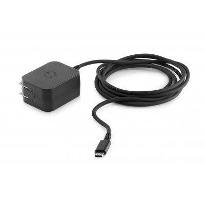 HP 15W USB-C AC Adapter netvoeding - Zwart