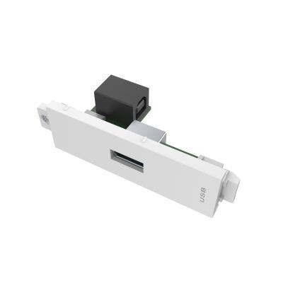 Vision wandcontactdoos: TC3 USBA - Wit