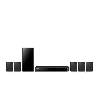 Samsung home cinema system: HT-J4500 - Zwart