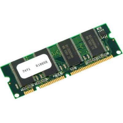 Cisco RAM-geheugen: 1GB DRAM for 2951 ISR (only as spare)