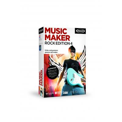 Magix audio software: Magix, Music Maker, Rock Edition 4