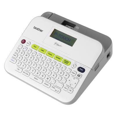 Brother Bureaumodel voor TZe-tapes van 3.5 tot 18 mm - 180 dpi - QWERTY Labelprinter - Grijs, Wit