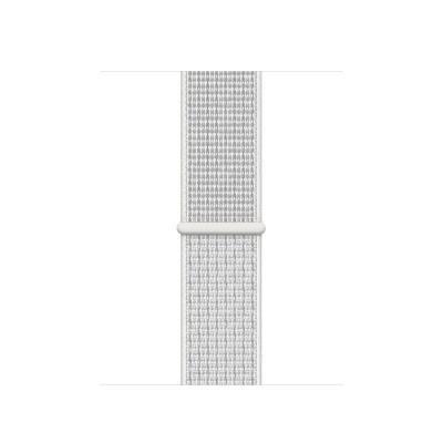Apple 40mm Summit White Nike Sport Loop horloge-band - Wit