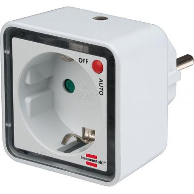 Brennenstuhl : LED Nightlight NL 02 ED with twilight sensor and socket 2 LED 1lm Switch function auto/off