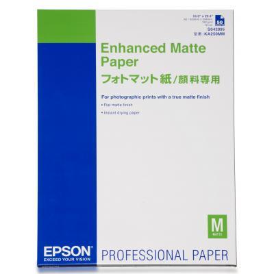 Epson grootformaat media: Enhanced Matte Paper, DIN A2, 192g/m², 50 Sheets