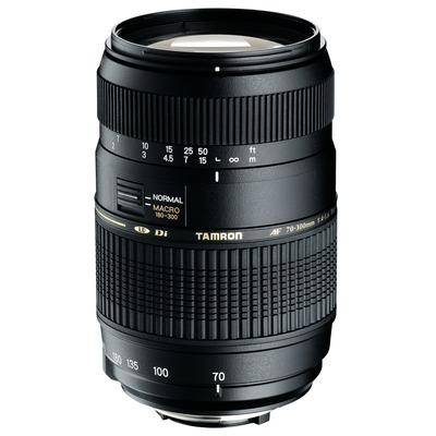 Tamron camera lens: AF 70-300mm F/4-5.6 Di LD MACRO 1:2 - Zwart