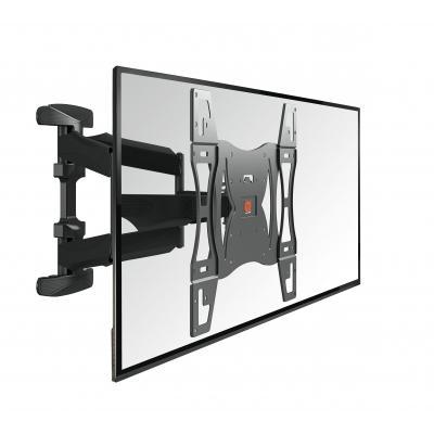 Vogel's montagehaak: BASE 45 L Draaibare TV-muurbeugel - Zwart
