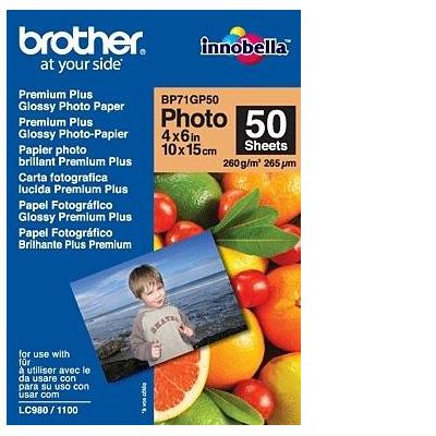 Brother BP71GP50 fotopapier