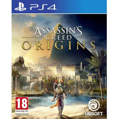 Ubisoft game: Assassin's Creed: Origins  PS4