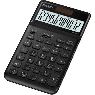 Casio 12 Digits, 109x183.5x10.8mm, 150g, Black Calculator - Zwart