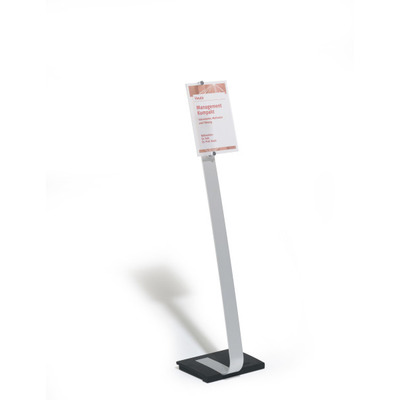 Durable Crystal Sign Stand A4
