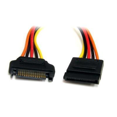 Startech.com : 30cm 15-pins SATA Verlengkabel Voeding - Multi kleuren