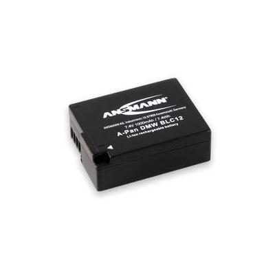 Ansmann batterij: 7.4V, 1000mAh, black - Zwart
