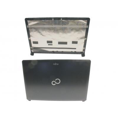 Fujitsu notebook reserve-onderdeel: LCD Back Cover - Zwart