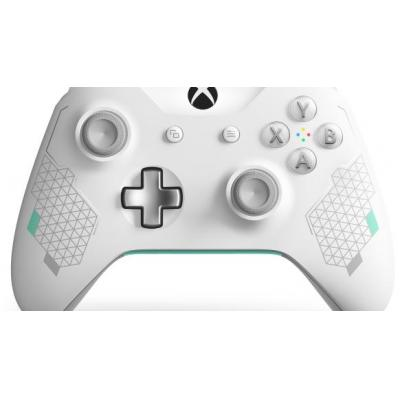 Microsoft game controller: Xbox Wireless Controller – Sport White Special Edition - Muntkleur, Wit