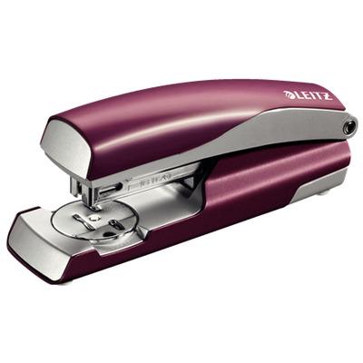 Leitz nietmachine: NeXXt 5562 - Rood, Zilver