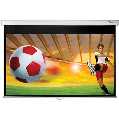 "Optoma projectiescherm: DS-9092PWC/92"" 16:9 Matte white - Wit"