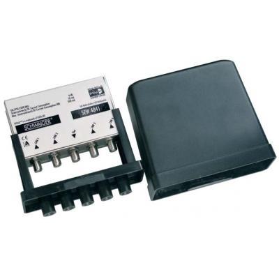 Schwaiger : F - 4 x F, 950 - 2300 MHz, 4 db, 20 mA