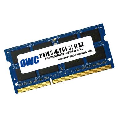 OWC 8GB, PC8500, DDR3, 1066MHz RAM-geheugen - Blauw