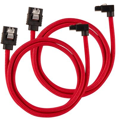 Corsair CC-8900284 ATA kabel - Zwart, Rood