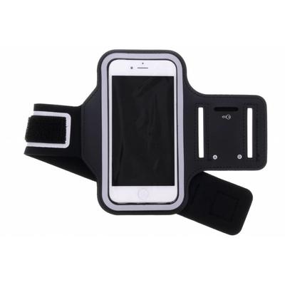 CP-CASES Zwart sportarmband iPhone SE (2020) / 8 / 7 / 6(s) - Zwart / Black Accessoire