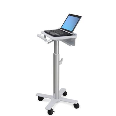 Ergotron StyleView Laptop Cart, SV10 Multimedia kar & stand - Aluminium, Wit