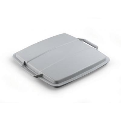Durable trash can accessoire: Grey Durabin Lid 90 - Grijs