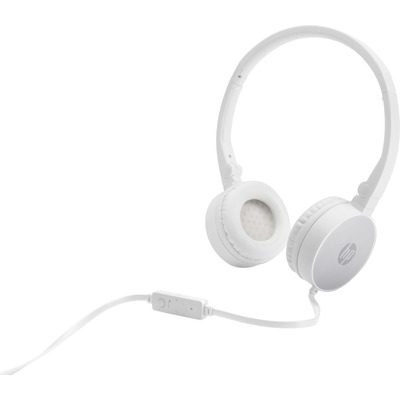 HP H2800 Headset - Zilver, Wit