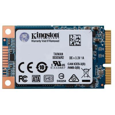 Kingston Technology SSD: UV500 SSD 120GB mSATA - Blauw, Goud, Wit