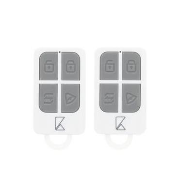 König afstandsbediening: Remote control for SAS- ALARM240, 433 Mhz, white - Wit