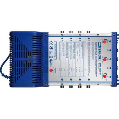 Spaun video switch: SMS 5803 NF - Blauw, Zilver