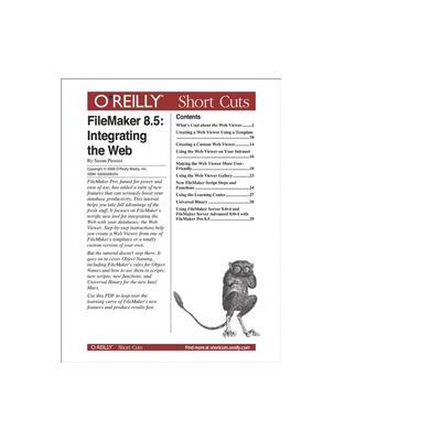 O'reilly boek: Media FileMaker 8.5: Integrating the Web - eBook (PDF)