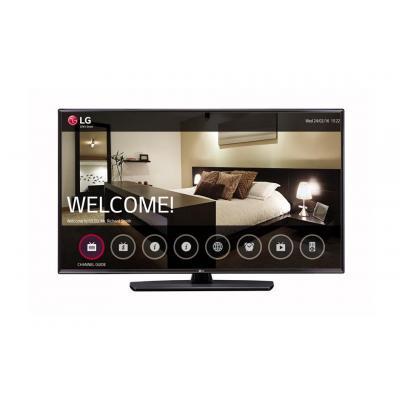 """Lg : 124.46 cm (49 """") , 1920 x 1080, Full HD, 16:9, 400 cd/m², 9 ms, 2 x HDMI, USB, CI, RF, RS-232C, Black - Zwart"""