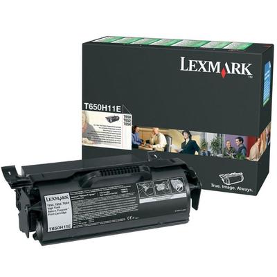 Lexmark T65x 25K retourprogramma printcartridge Toner - Zwart
