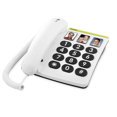 Doro PhoneEasy 331ph Dect telefoon - Wit