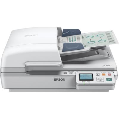 Epson WorkForce DS-6500N Scanner - Wit