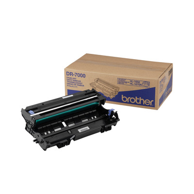 Brother DR-7000\nDrumunit voor laser printers en multi functionals Drum - Zwart