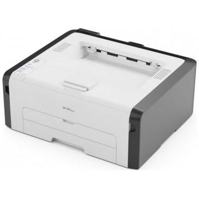 Ricoh SP 277NwX - A4, 1200 x 600 dpi, 128 MB, USB 2.0, Ethernet, WLAN, NFC, 900 W Laserprinter - Zwart