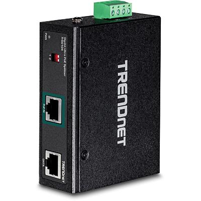 Trendnet TI-SG104 Netwerk splitter - Zwart