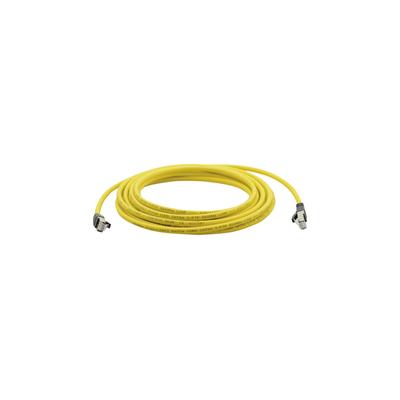 Kramer Electronics Patch Cord Cat6A S/FTP, 500MHz, 4x2x26AWG, 1m Netwerkkabel - Geel