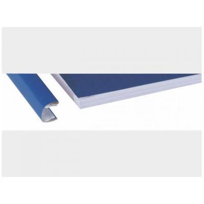 Unibind prikbord: Inbindmap SteelBack A4 9mm alum./ds 50