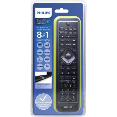 Philips afstandsbediening: Perfect replacement Universele afstandsbediening SRP5018/10 - Zwart