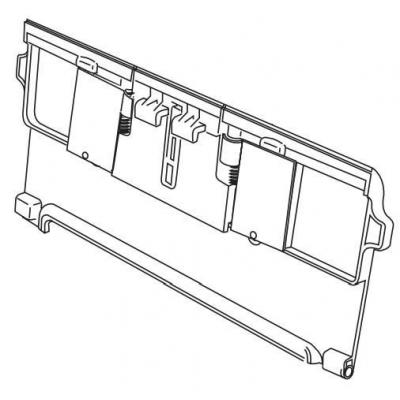 Intermec PB42 Battery Door Printing equipment spare part
