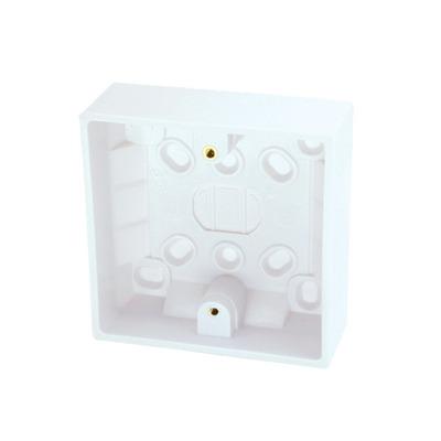 Lindy Surface Pattress Box Montagekit - Wit