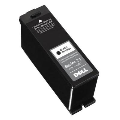 Dell inktcartridge: Single Use P713w Standard Capacity Black Ink Cartridge - Kit - Zwart