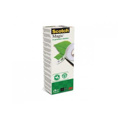 Scotch plakband: Kleefband 19mmx33m Magic 900 rc/pak 9 r